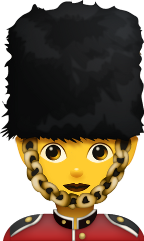 Download Woman Guard Emoji [Iphone IOS Emoji PNG]
