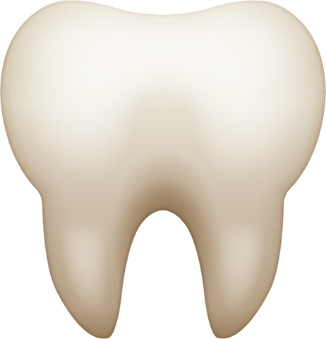 Download Tooth Emoji [Iphone IOS Emoji PNG]