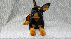 Stuffed Miniature Pinscher