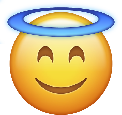 Image result for angel emoji