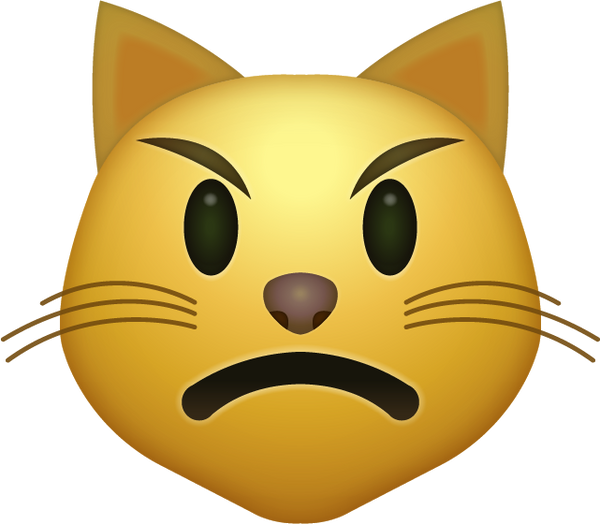 download angry cat iphone emoji icon in jpg and ai emoji