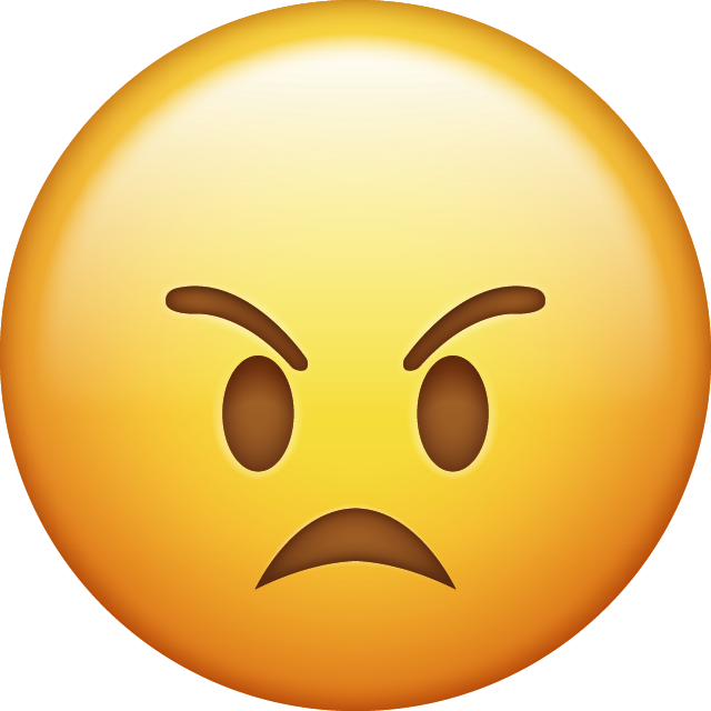 Angry Emoji [Download iPhone Emojis]