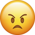 Download Angry Face Iphone Emoji Image