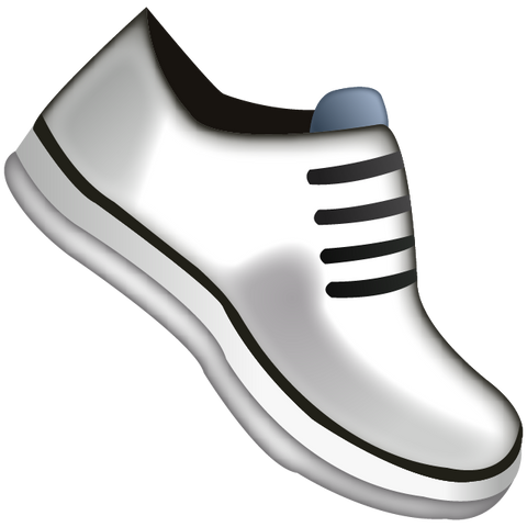Download Athletic Shoe Emoji Icon