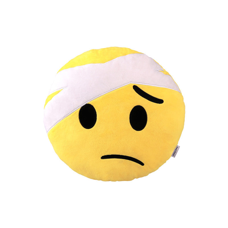 Bandage Emoji Pillow - Cushions Pillows