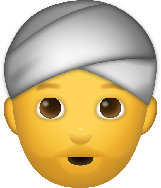 Beard Man Iphone Emoji [Free Download iPhone Emojis]