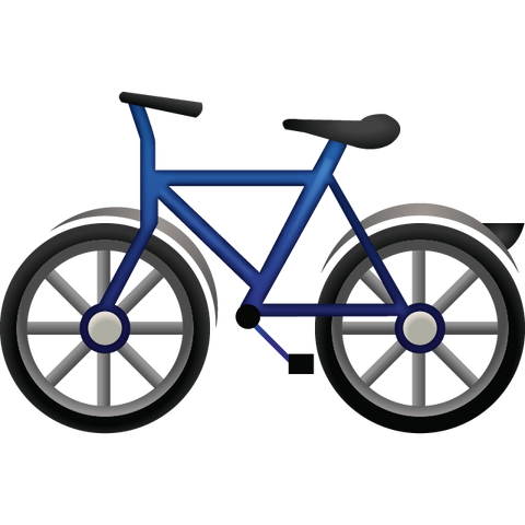 Download Bicycle Emoji Icon | Emoji Island