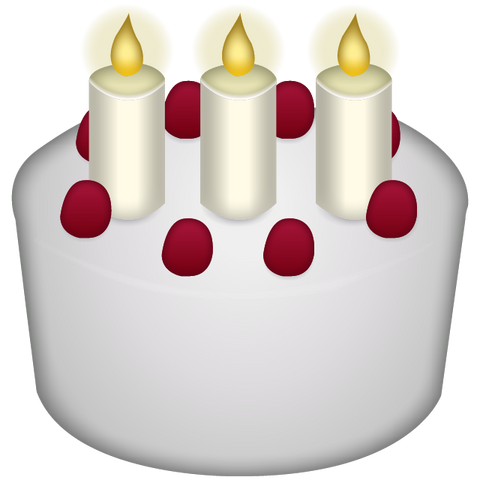 Download Birthday Cake Emoji Icon