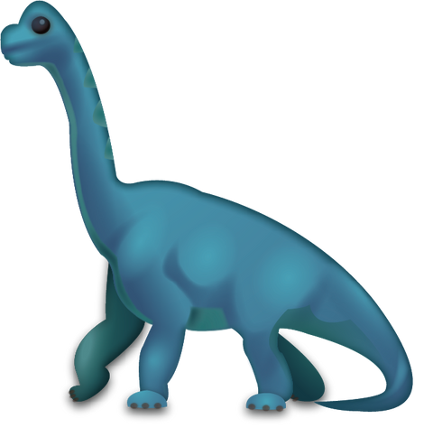 Download Brachiosaurus Icon in JPG and AI