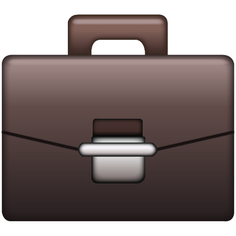 Download Briefcase Emoji Icon