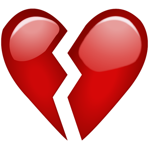 Image result for heart break emoji