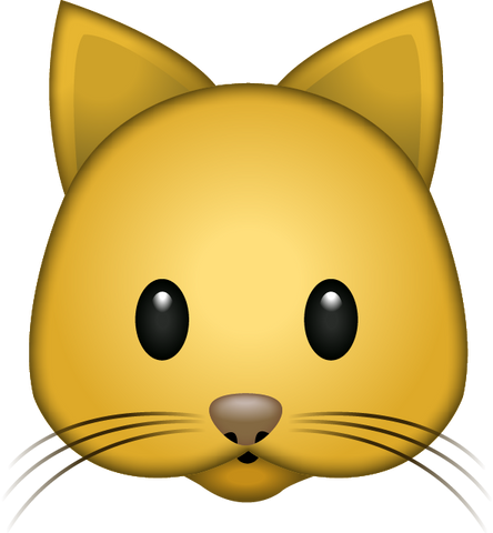 Download Cat Emoji PNG