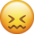 Download Confounded Face Iphone Emoji Image