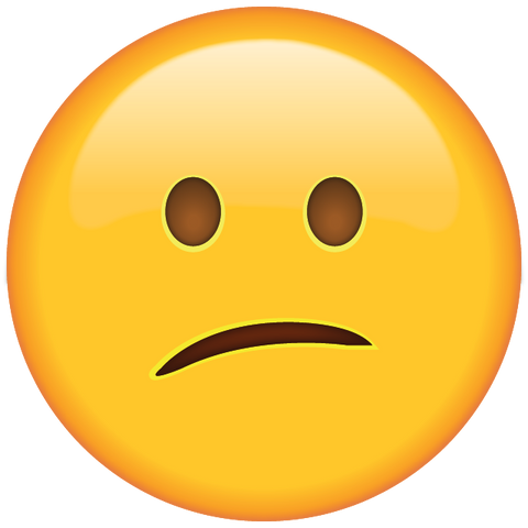 download confused face emoji Icon