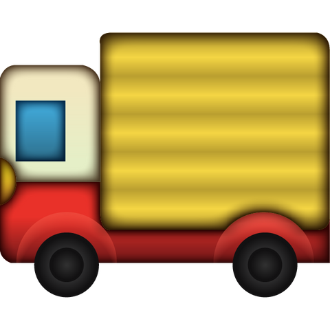 download delivery truck emoji Icon