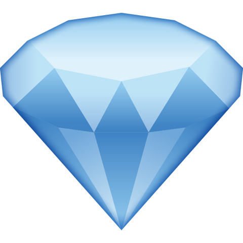 download diamond emoji Icon