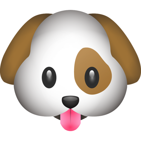 download dog emoji Icon