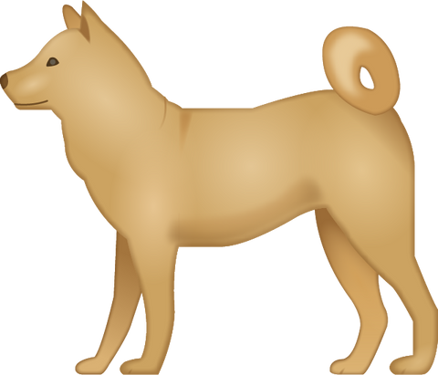 Download Dog Emoji PNG