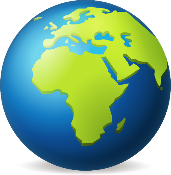 Download Earth Globe Europe Africa Emoji Image In Png