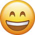 Download Very Happy Emoji face [Iphone IOS Emojis in PNG]