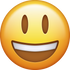 Download Big Smiling Emoji face [Iphone IOS Emojis in PNG]