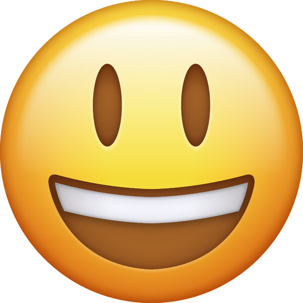 Download Big Smiling Iphone Emoji Icon In JPG And AI