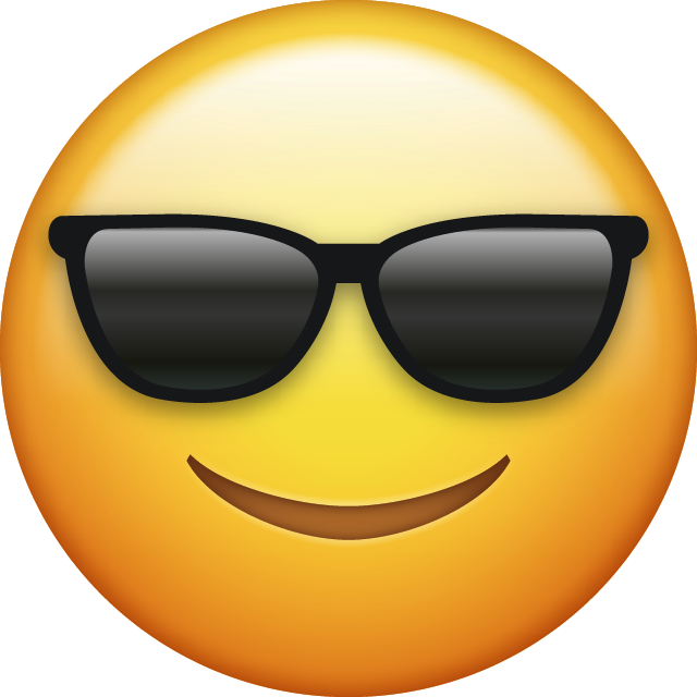 Sunglasses Emoji [Free Download Cool Emoji]