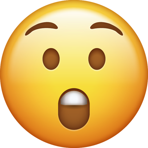 Surprised Emoji 1 [Download iPhone Emoji]
