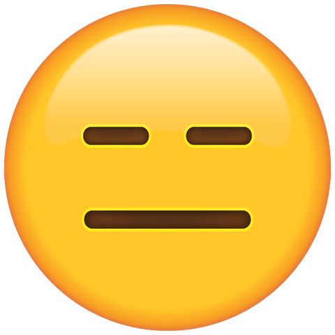 download expressionless face emoji Icon