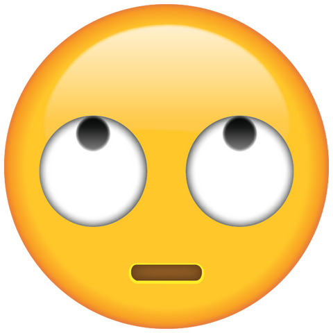 Eye Roll Emoji in PNG [Free Download]