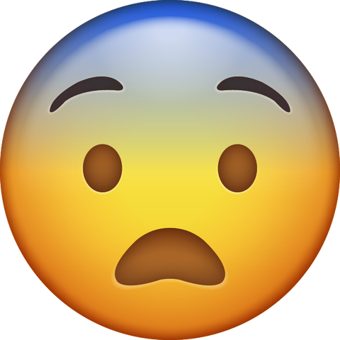 Fearful Emoji [Download Fearful Face Emoji in PNG]