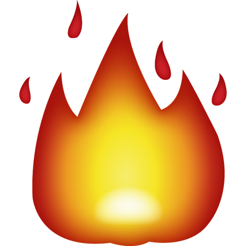 download fire emoji Icon