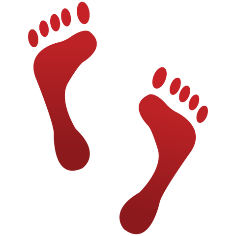 Download Footprints Emoji Icon