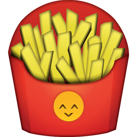 Download French Fries Emoji Icon For Free