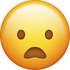 Download Frowning Iphone Emoji Image