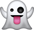 Download Ghost Iphone Emoji Image