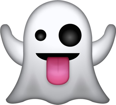 Download Ghost Emoji in PNG and AI | Emoji Island
