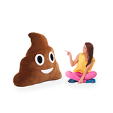Giant Poop Emoji Pillow - Hugh Poop Plush Toy