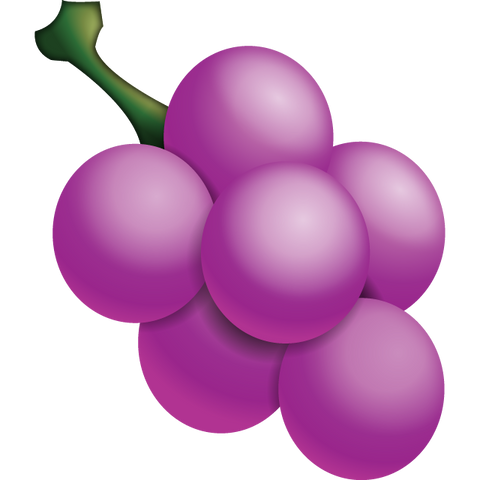 Download Grape Emoji Icon