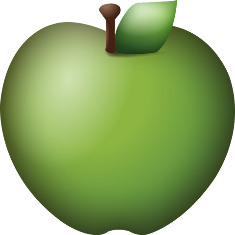 Download Green Apple Emoji Icon
