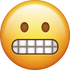 Download Grimacing Emoji face [Iphone IOS Emojis in PNG]