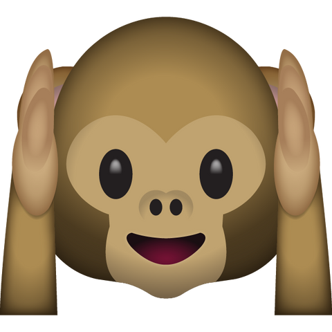 download hear no evil monkey emoji Icon