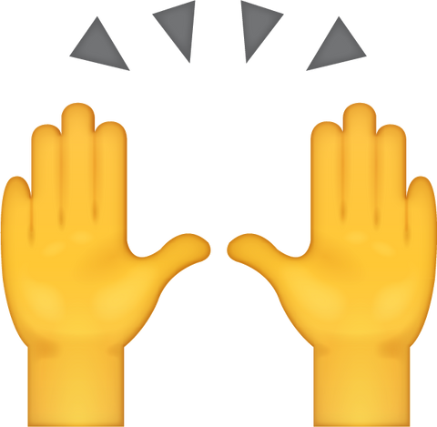 High Five Emoji [Download High Five Emoji]