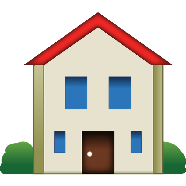 Download House Emoji Icon