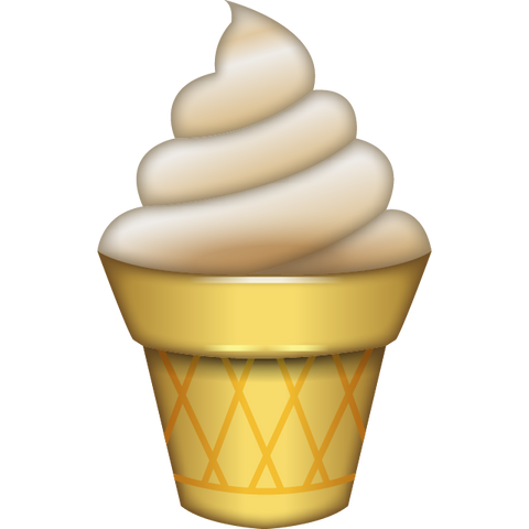 Download Ice Cream Emoji Icon For Free