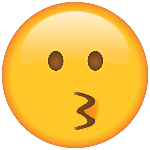 download kissing face emoji Icon