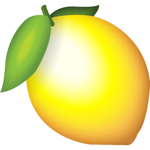 Download Lemon Emoji Icon