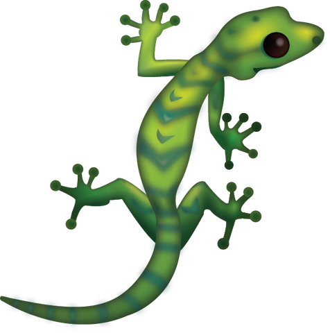 Lizard Emoji [Download iPhone Emoji In PNG]