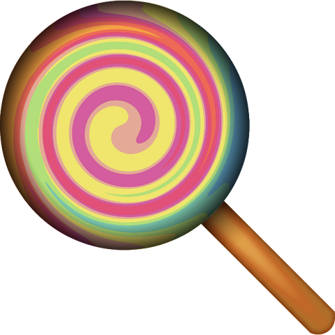 Download Lollipop Candy Emoji Icon For Free