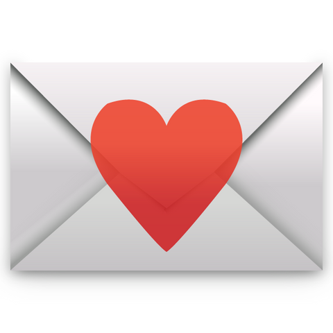 download love letter emoji Icon
